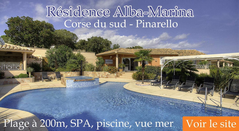 Résidence Alba-Marina Pinarello Sud Corse
