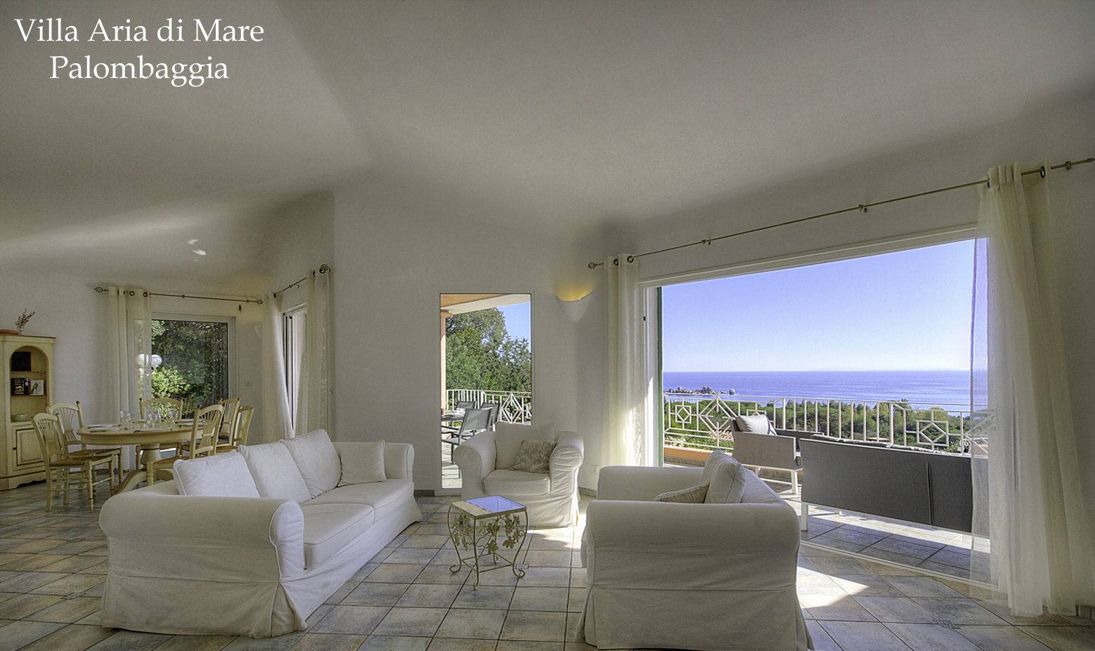 Villa luxe Palombaggia bord de mer